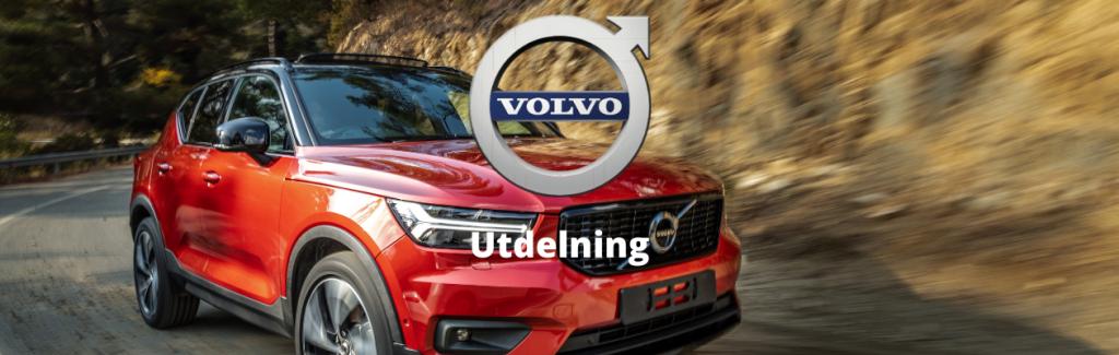 Volvo utdelning - datum , storlek, summa och utdelningshistorik